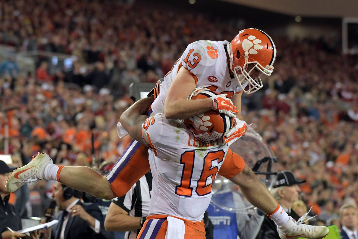 pretty nice 55a06 ccc42 Meet Hunter Renfrow, the former Clemson walk-on who owned ...