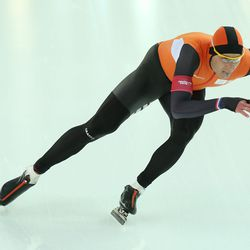 Thunder thighs: Dutch speedskater Michel Mulder