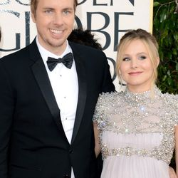 Pregnant Kristen Bell and Dax Shepard
