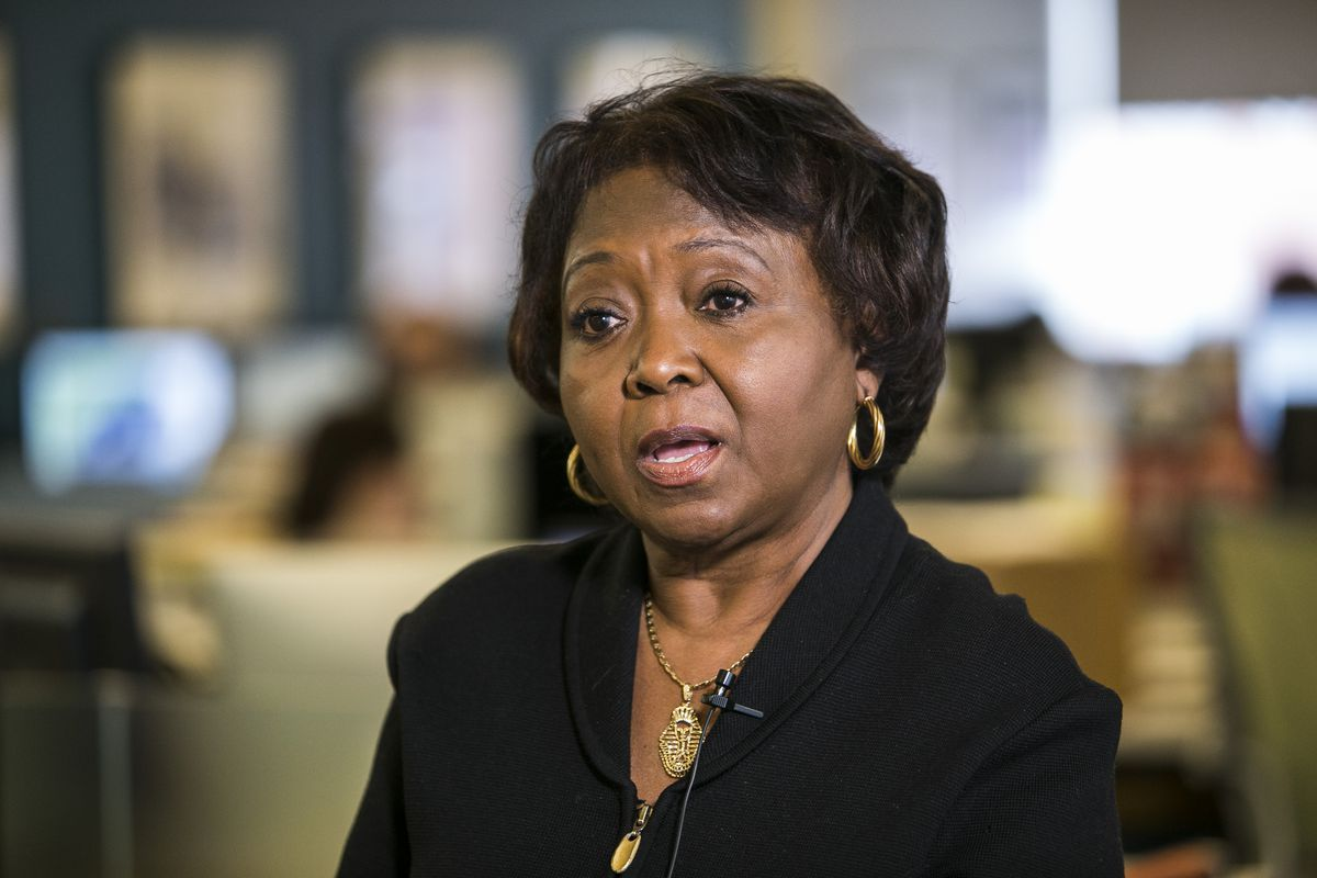 State Rep. Mary E. Flowers in 2018.