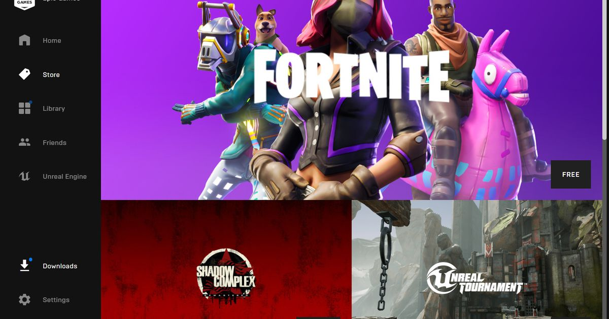 Epic Games takes on Steam with its own fairer game store