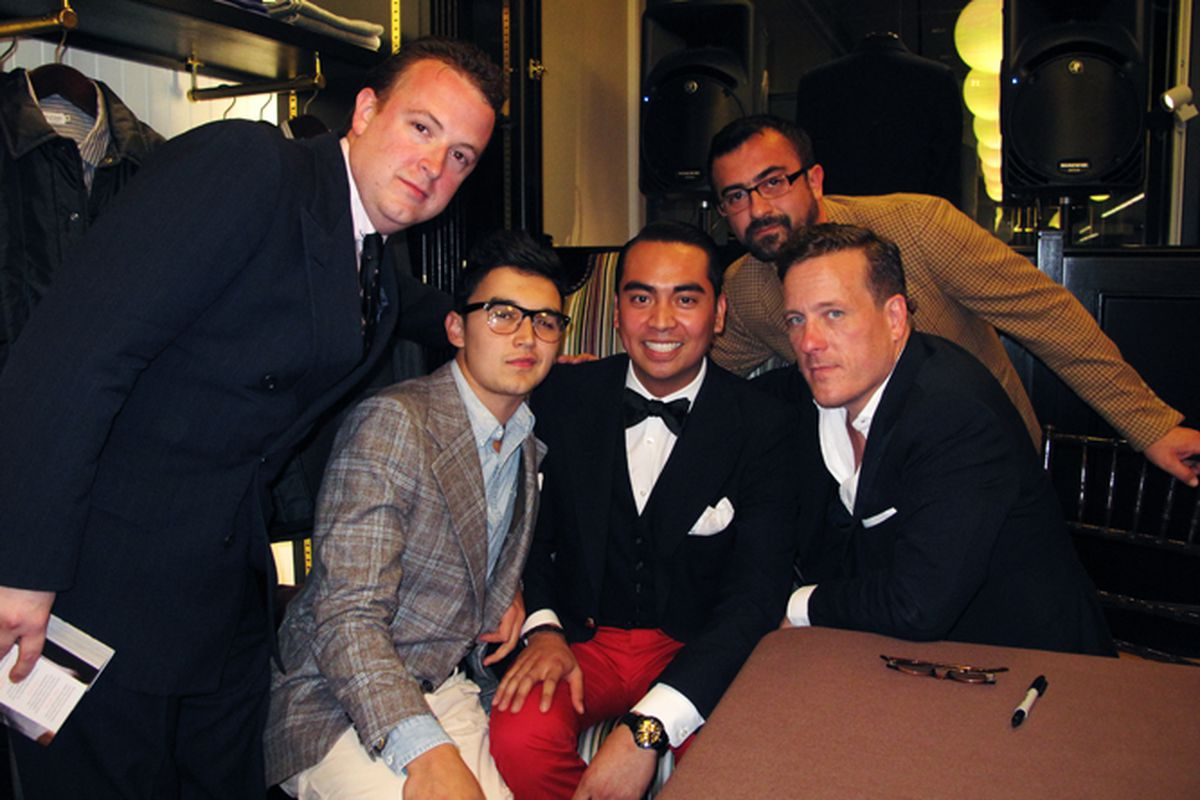 The handsome men of Sui Generis with The Sartorialist