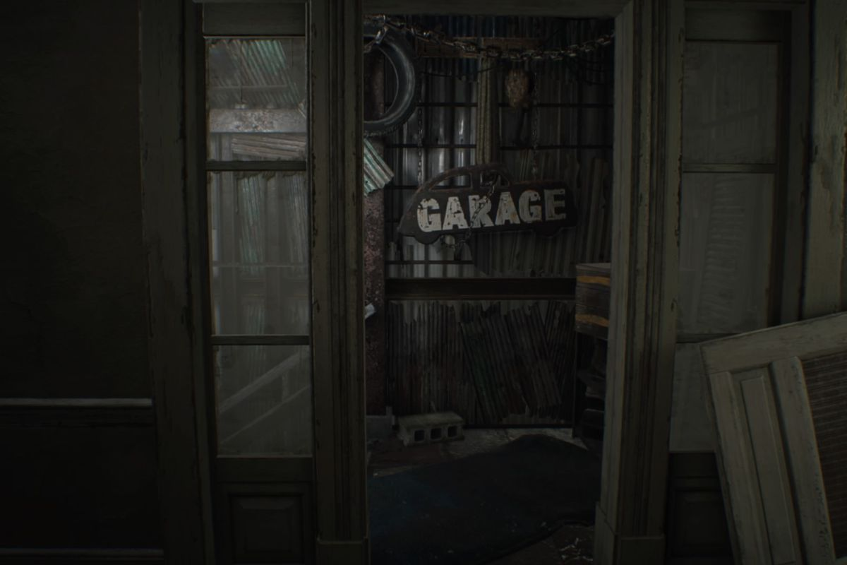 Resident Evil 7 guide and walkthrough 2-1 From Jack to the garage