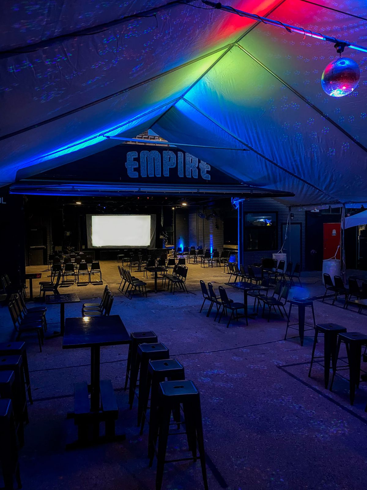 Red River music venue Empire Control Room implemented socially distanced seatings for concerts