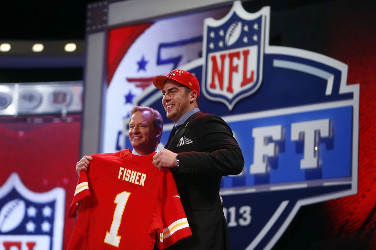 Eric Fisher set conference history by being the highest MAC player ever selected (first overall.) Who will be the first MAC prospect this year?