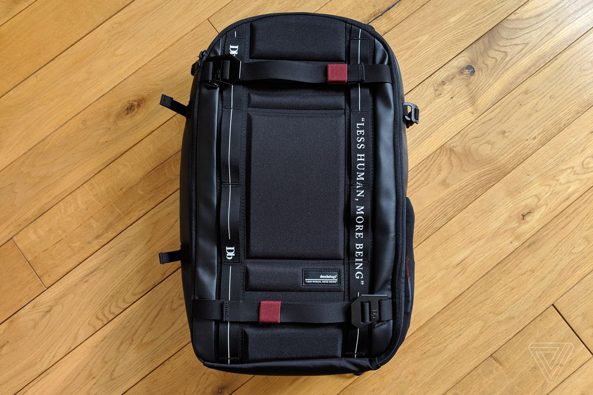 a5af0916eabe Douchebags Backpack review: my best friend at CES - The Verge