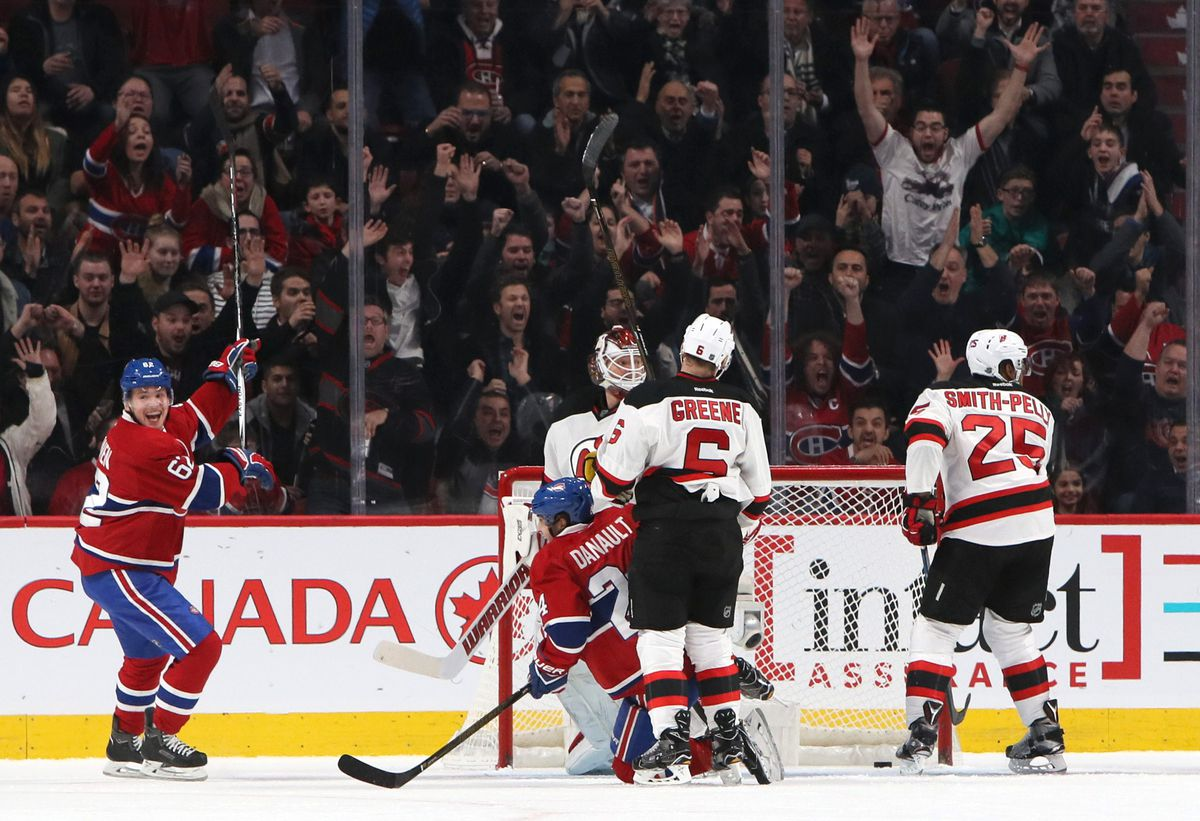 NHL: New Jersey Devils at Montreal Canadiens