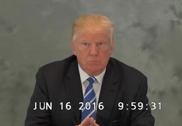 Trump deposition