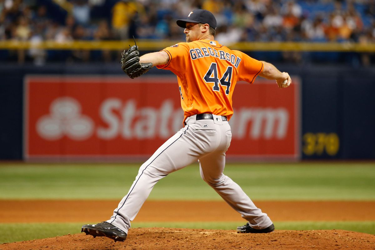 Nobody slides like Gregerson — except for Giles, that is.