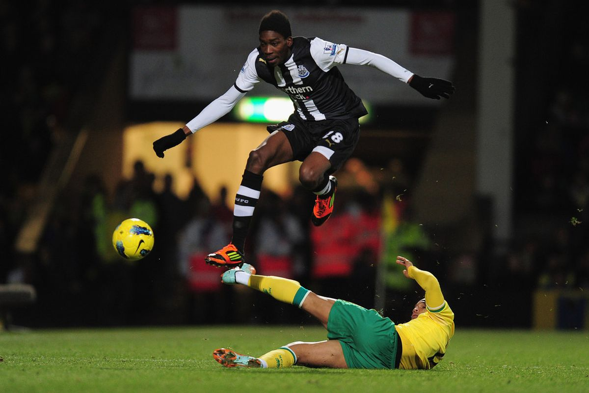 Sammy Ameobi will be looking to leap into the first team for Alan Pardew this season.