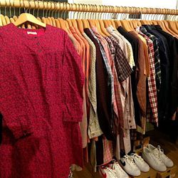 Madras shirtdress, $54