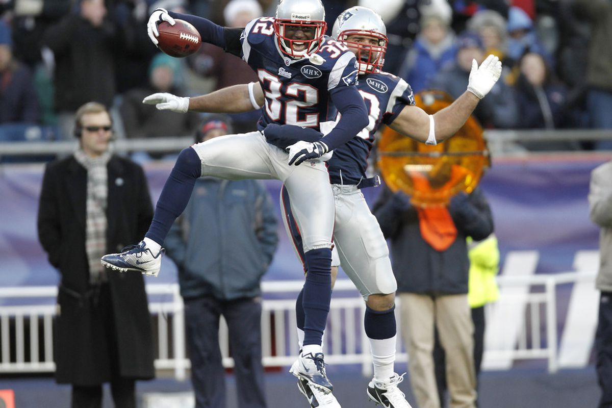 Welcome to the winning team, McCourty (Photo by Winslow Townson/Getty Images)