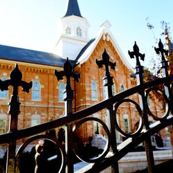 A photo of the Provo City Center Temple taken during a media tour on Nov. 12, 2015.