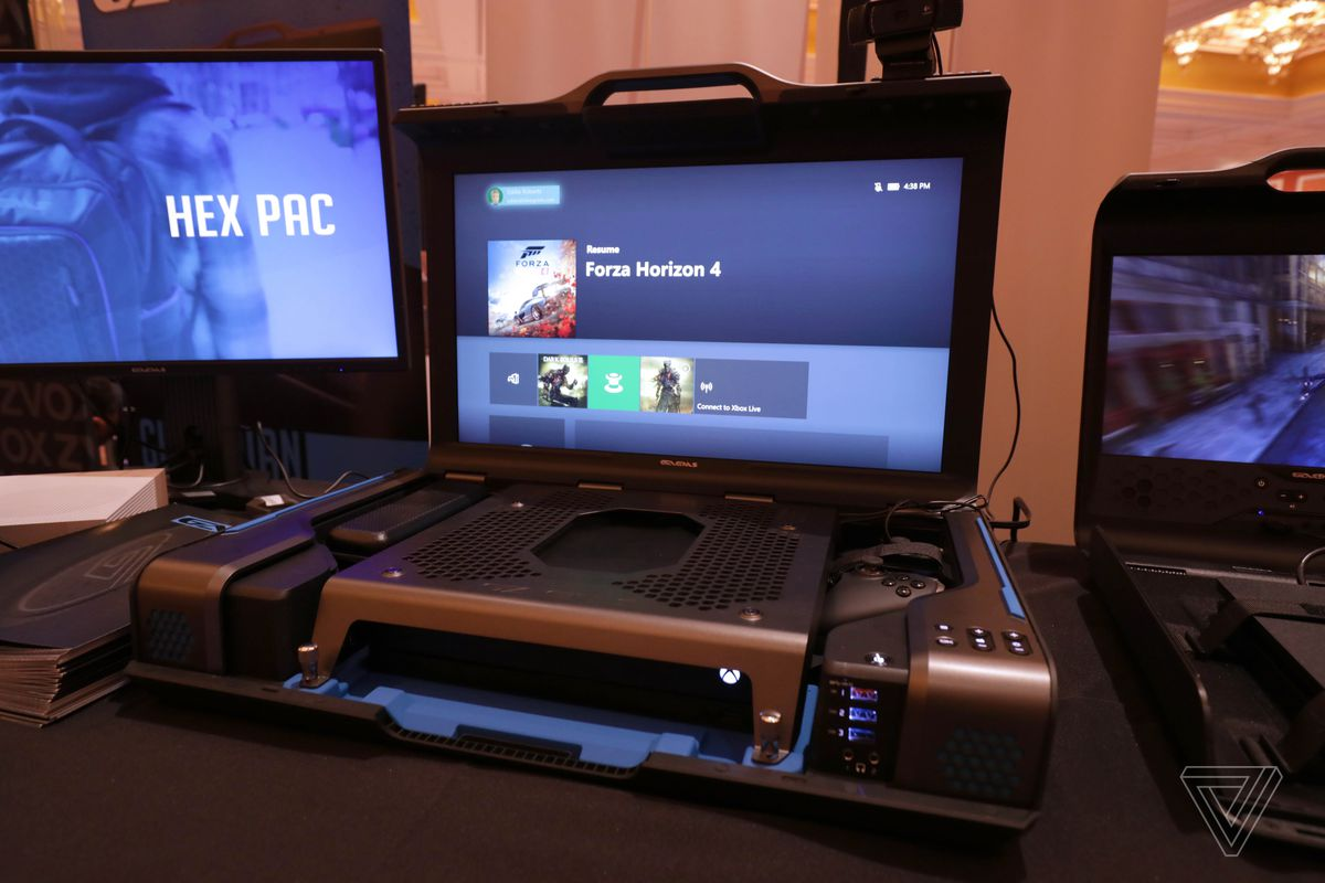 The Gaems Guardian Is A Massive Portable Gaming Rig For On