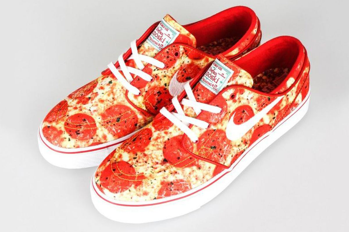 2bbad01959 Pizza Sneakers Are Here for You When Real Pizza Is Not - Eater