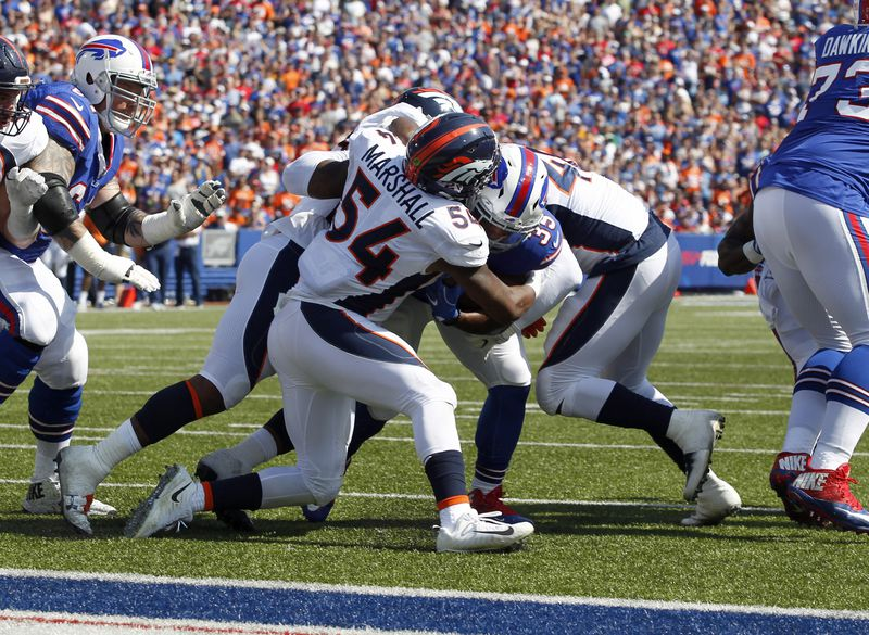 NFL: Denver Broncos at Buffalo Bills