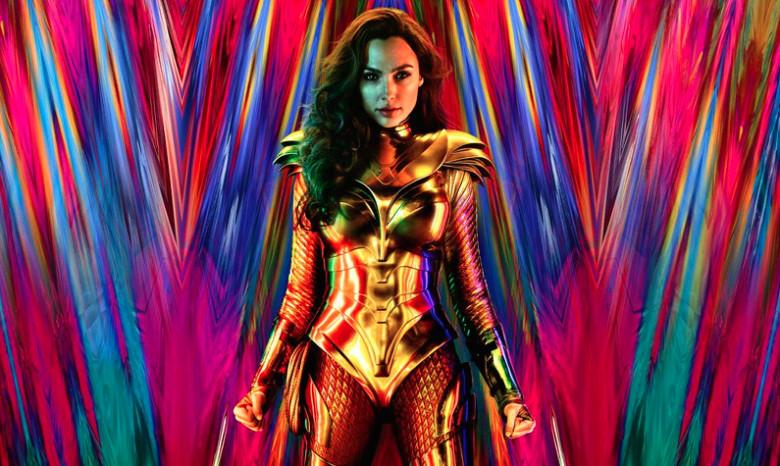 Una imagen promocional de Wonder Woman 1984