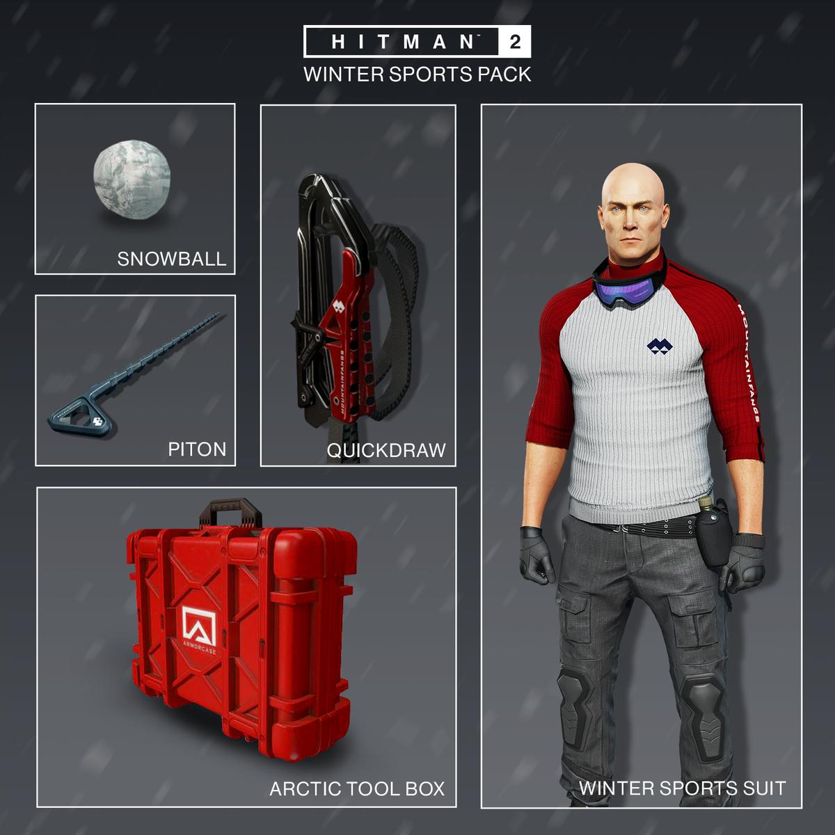 Hitman 2 - Winter Sports Pack items