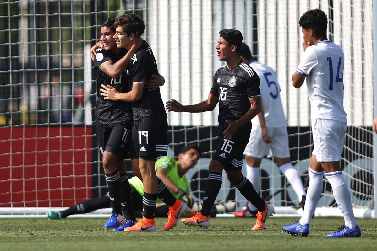 6bc7d0da3 Mexico crush El Salvador to qualify for the upcoming U17 World Cup ...
