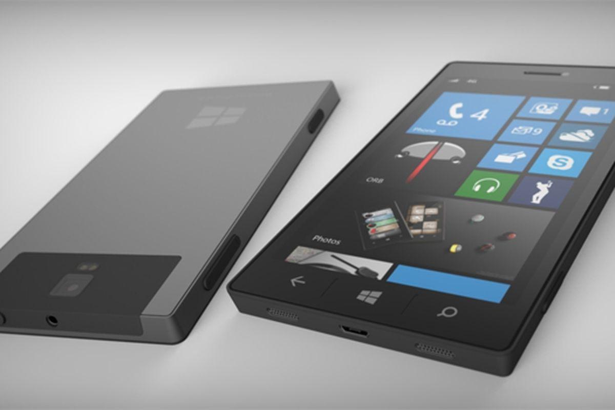 Surface phone mockup (Deviant Art)