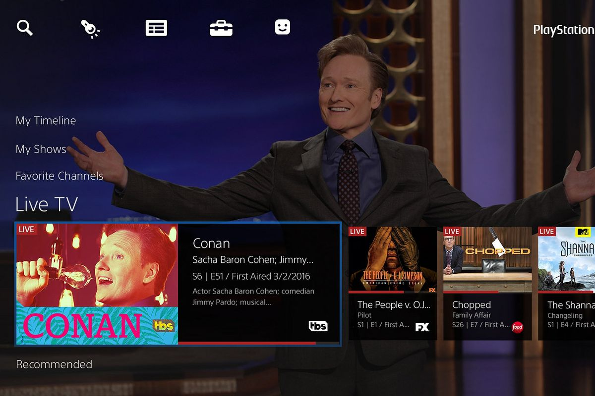 Playstation Vue Goes Nationwide But Without Live Shows From Abc Cbs Fox And Nbc The Verge