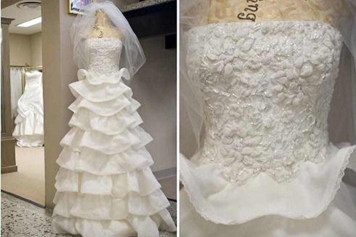 "Farah Angsana bridal gowns at Beverly Hills' Renee Strauss boutique. Image via <a href=""http://blackburnandsweetzer.com/2009/07/06/brides-farah-angsanas-latest-confections/"">Blackburn and Sweetzer</a>"