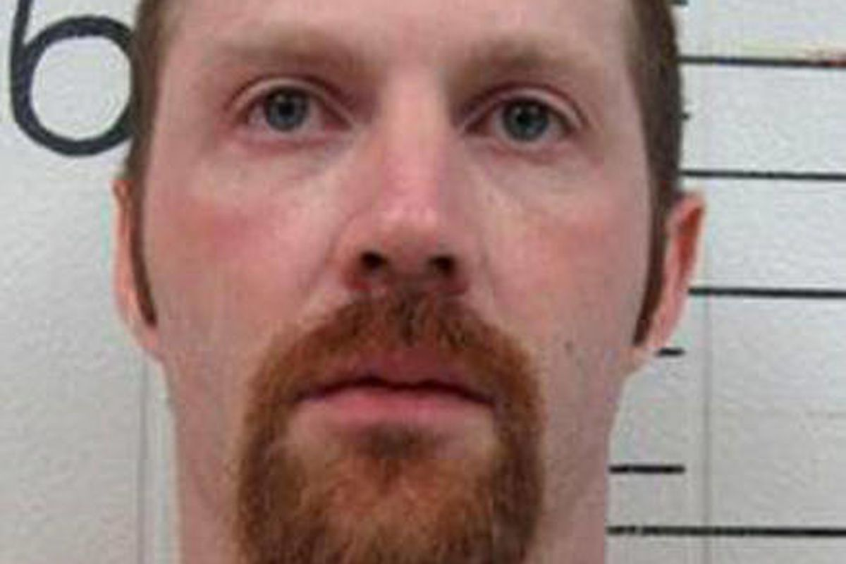 """Billy R. Stinnett is shown in an undated photo provided by the Kentucky Department of Corrections. Stinnett, 30, has sued the Barren County Sheriff""""™s Office and Sheriff Christopher Eaton over an alleged beating that took place Feb. 24, 2010 in Glasgow, K"""