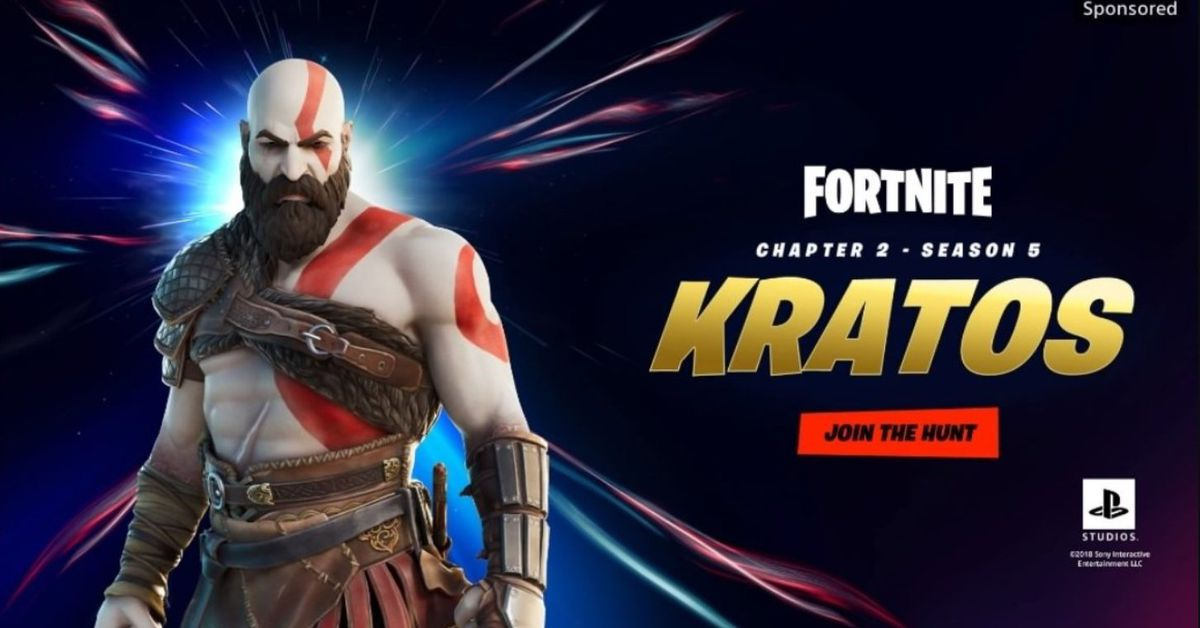 God of War's Kratos is coming to battle his way through the Fortnite universe