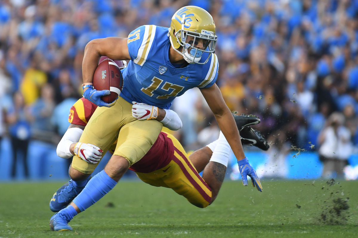 Christian Pabico is one of this year's seniors who will play his final game at the Rose Bowl on Saturday. Richard Mackson-USA TODAY Sports