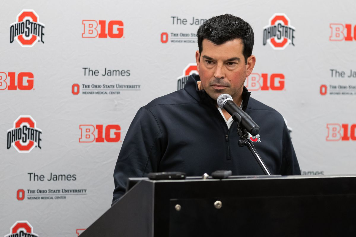 COLLEGE FOOTBALL: AUG 27 Ohio State Press Conference