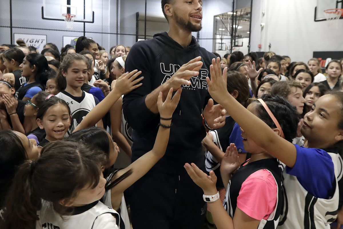 db00ee2ab23 A letter from a 9-year-old girl has helped Stephen Curry fix online access  to his shoes for kids. Riley Morrison of Napa
