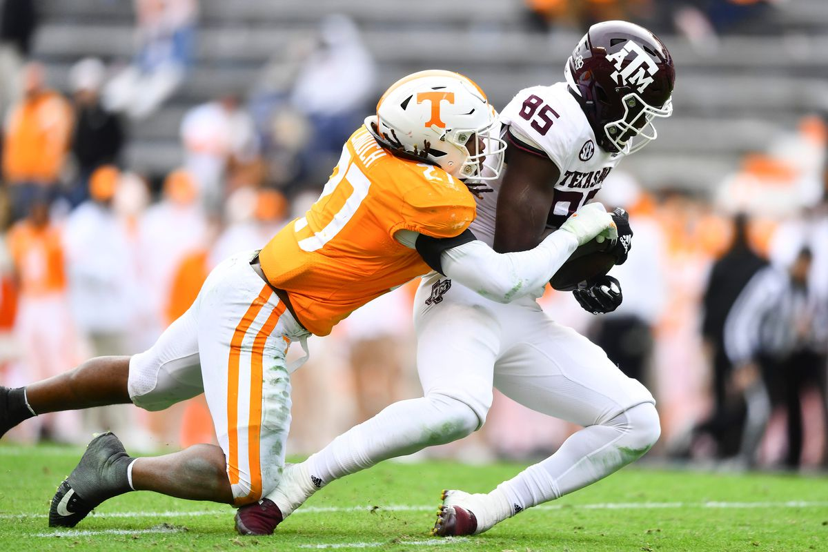 NCAA Football: Texas A&M at Tennessee