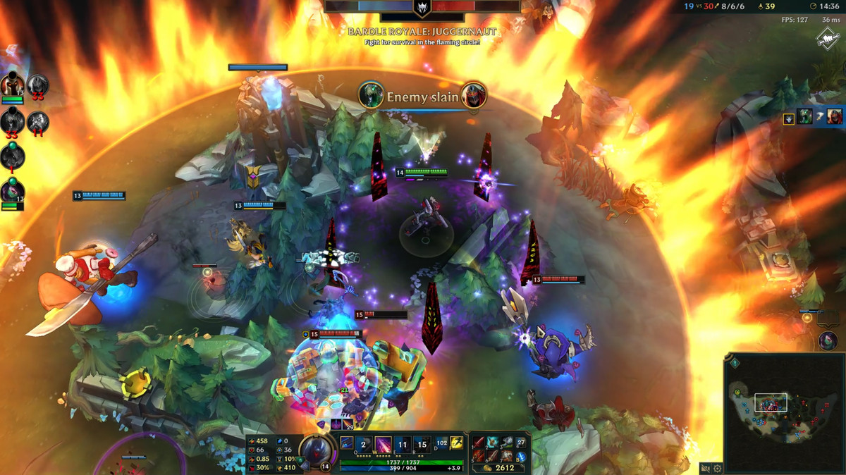 league of legends takes a cue from fortnite with new faster game