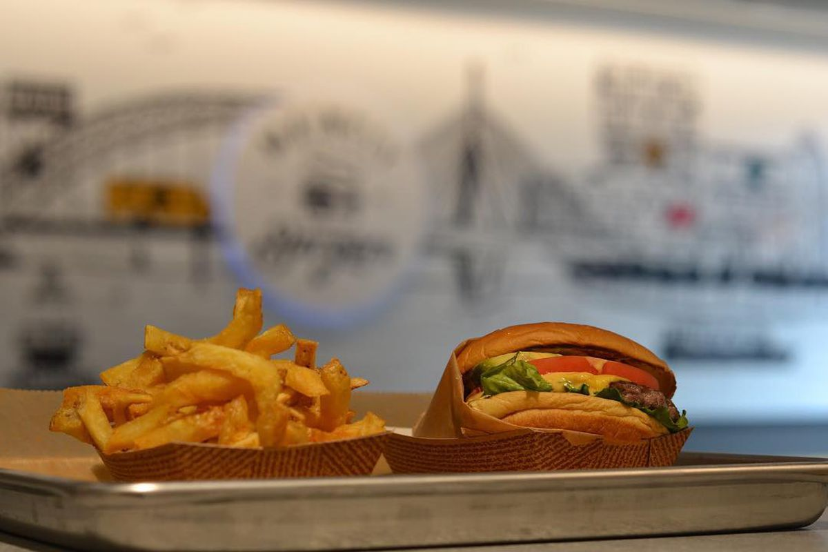 Mainely Burgers at Boston Landing