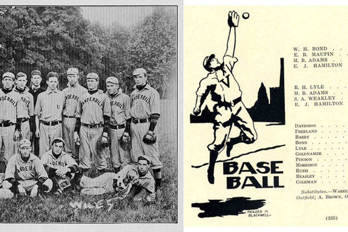 Vanderbilt's historical records: Always a home run for awesome photos.