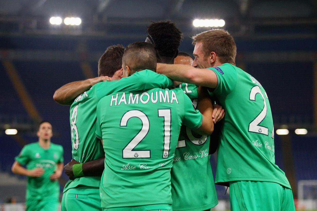 SS Lazio v AS Saint-Etienne - UEFA Europa League