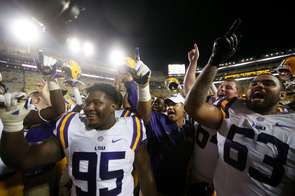 NCAA Football: Jacksonville State at Louisiana State