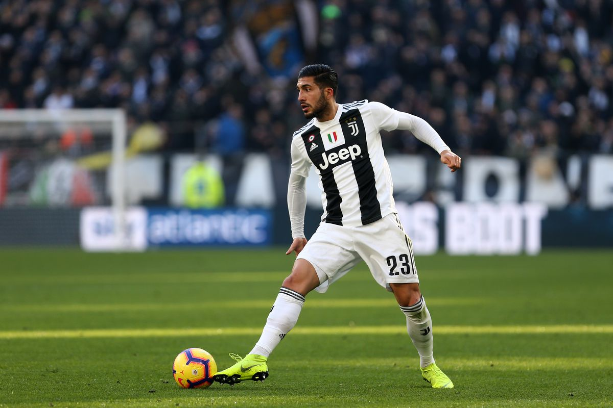 Emre Can of Juventus FC in action during the Serie A...