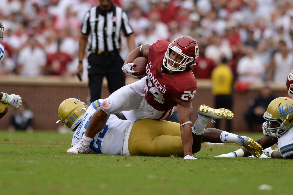 Rodney Anderson Injury Updates Oklahoma Rb Out For Season