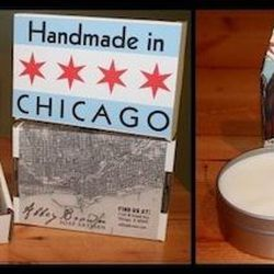 """At 1162 West Grand Avenue, Abbey Brown Soap Artisan handmakes soaps using olive oil and essential oils infused with locally grown herbs and botanicals. The studio's quaintly spelled """"shoppe"""" sells soaps ($7 apiece) with Windy-City themes. We love the nove"""