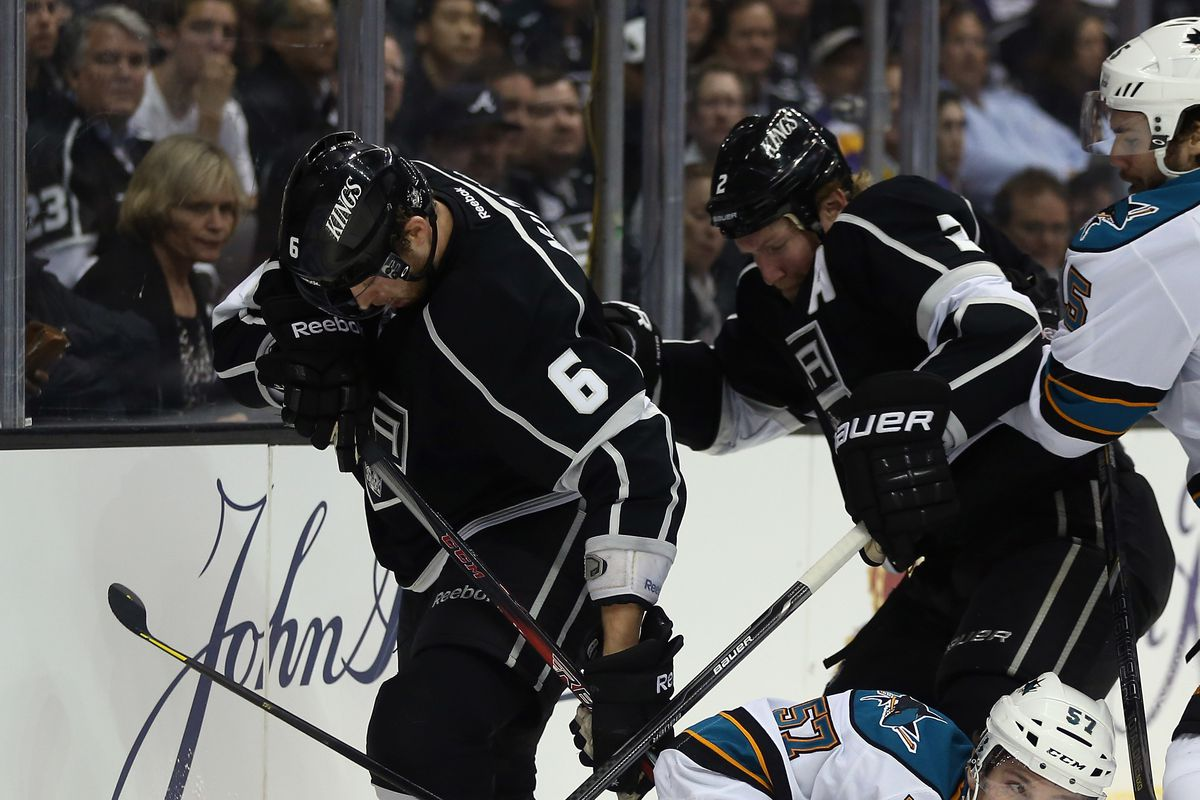 There are actually photos of Greene and Muzzin on the ice together, who knew?