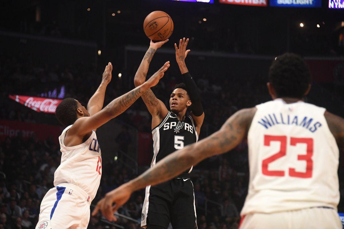 NBA: San Antonio Spurs at Los Angeles Clippers