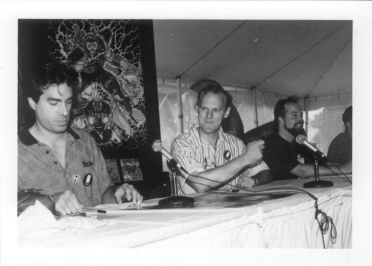 Image Comics' founding artists at a fan event (Courtesy ImageComics)