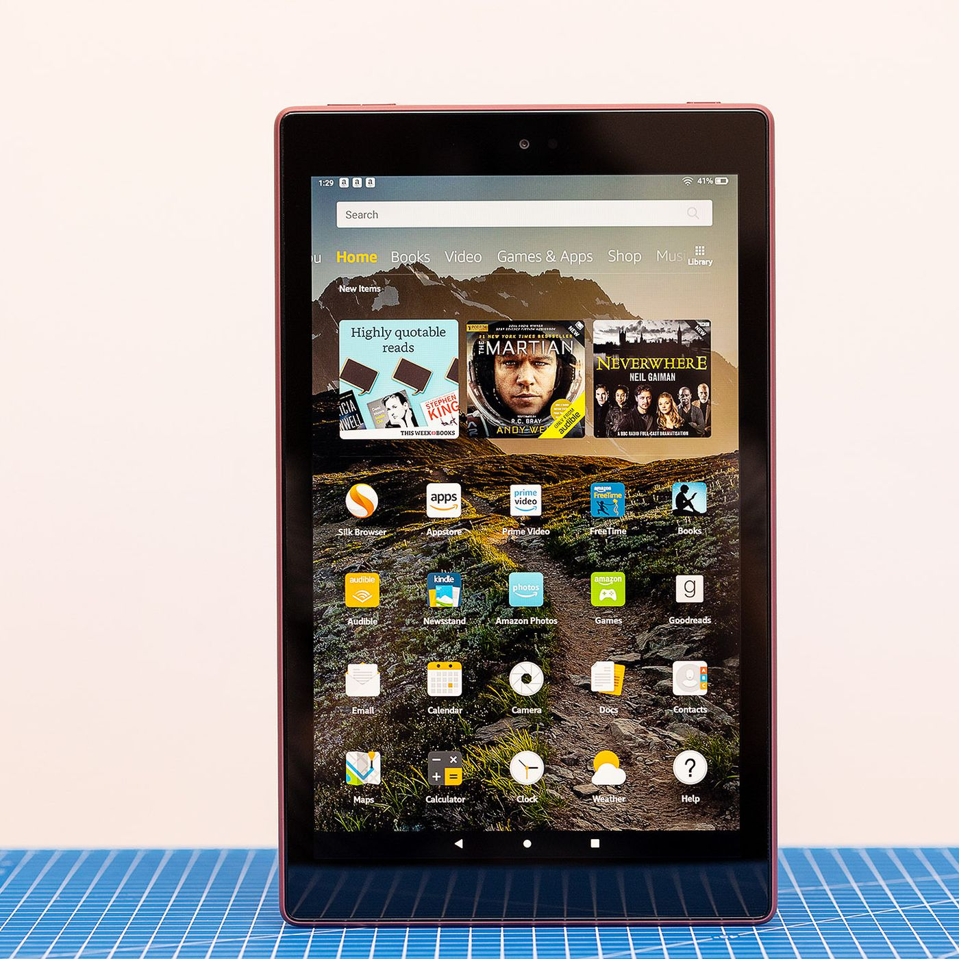 Amazon Fire Hd 10 2019 Review Low Price Low Expectations The Verge
