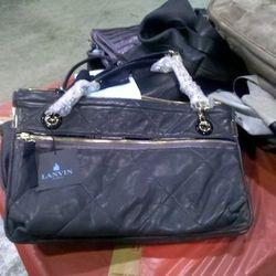 Beautiful blue Lanvin bag for $599
