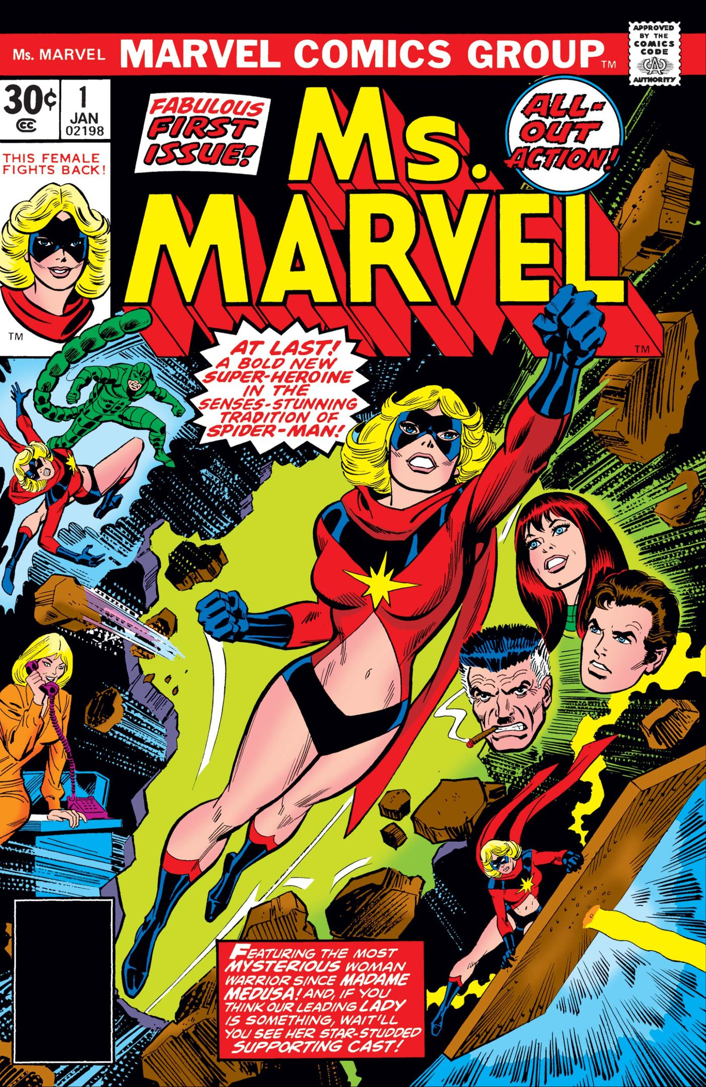 Captain Marvel's origin, powers, and comic history