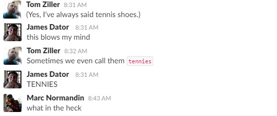 Sneakers or tennis shoes what do you call them sbnation up to this point id only ever heard the term used by southerners over the age of 60 but on discussion it appears that many many more people use the term gumiabroncs Images