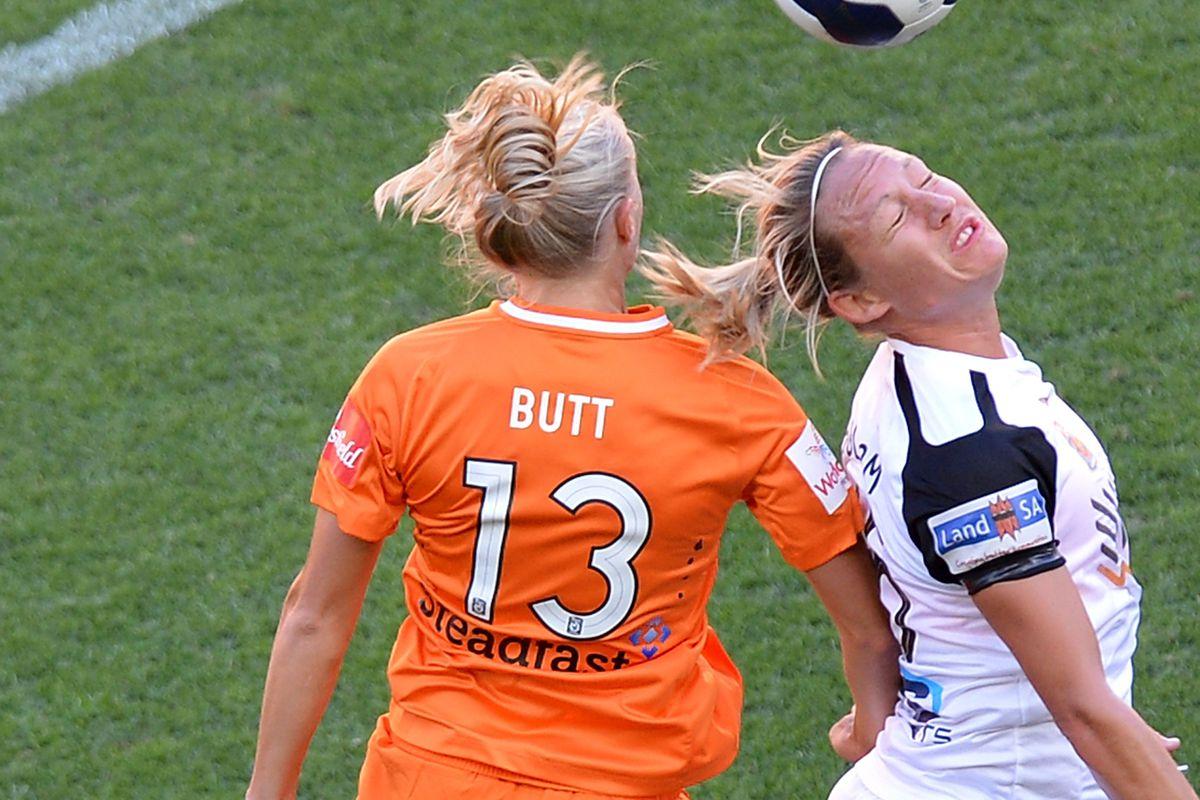 661b2f67fc8 Newlywed Tameka Butt takes her wife s name before Australia USA soccer match