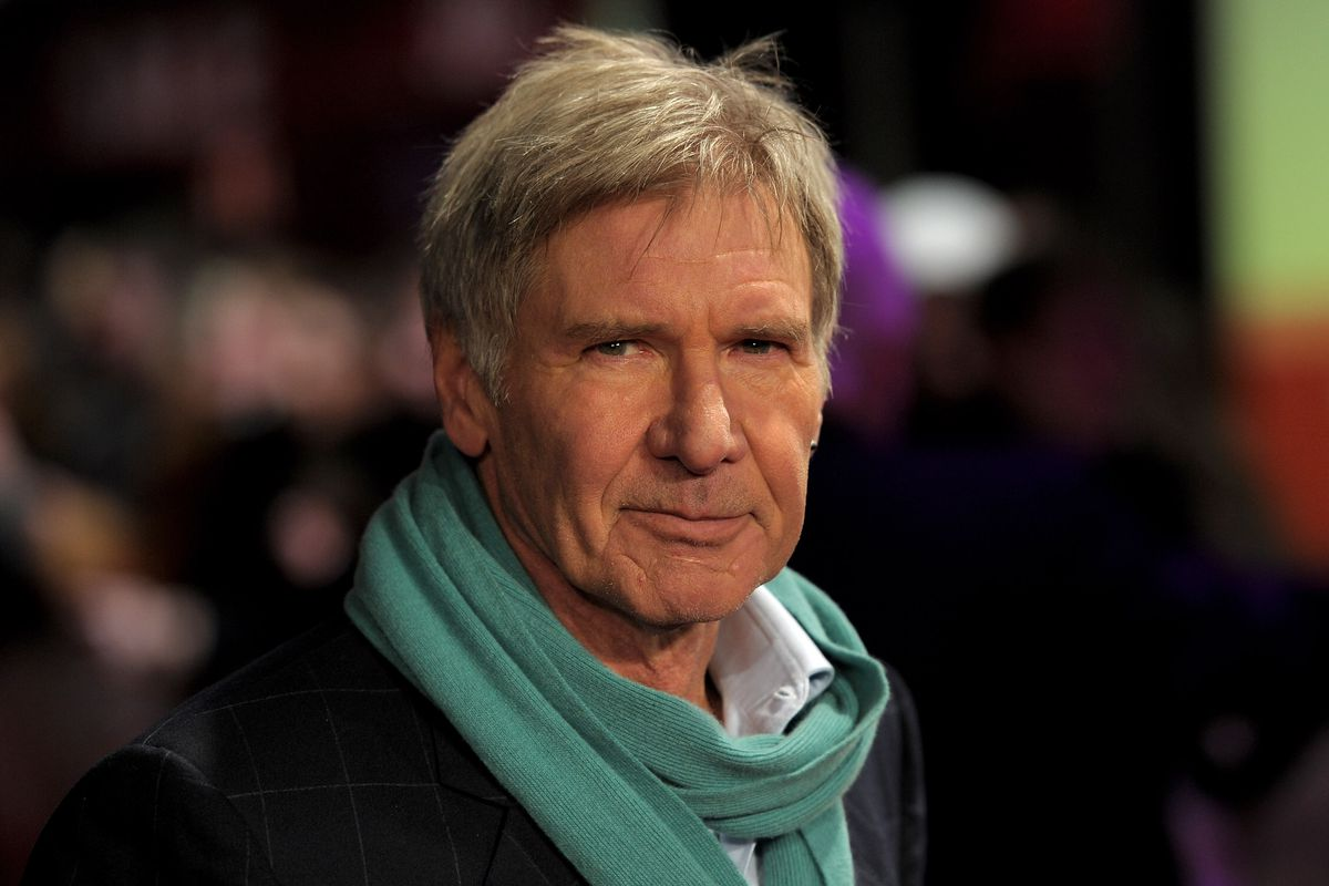 """Actor Harrison Ford attends the """"Morning Glory"""" UK premiere in 2011 in London, England."""