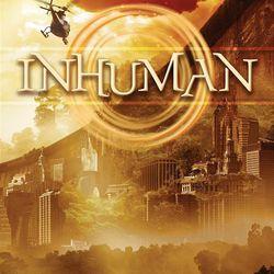 """Inhuman"" is by Kat Falls."